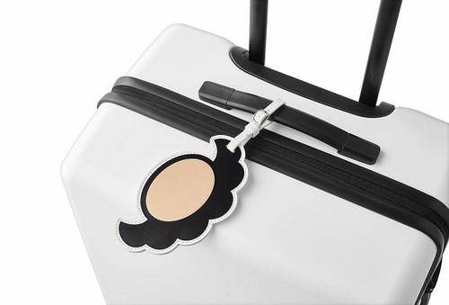 Nintendo Super Mario Travel Luggage Tag (Mario's Mustache)