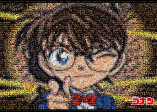Epoch Jigsaw Puzzle 21-109 Detective Conan Mosaic Art (3000 S-Pieces)