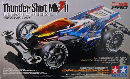 Tamiya Mini 4WD 95463 Thunder Shot Mk.II Clear Special Limited Edition