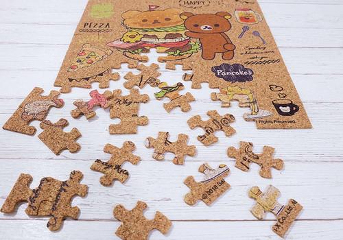 Beverly Jigsaw Puzzle 108-825 Cork Jigsaw Puzzle Rilakkuma Deli (108 Pieces)