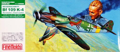 Fine Molds FL15 German Messerschmitt Bf 109 K-4 Hartmann's Final Combat 1/72 Scale Kit