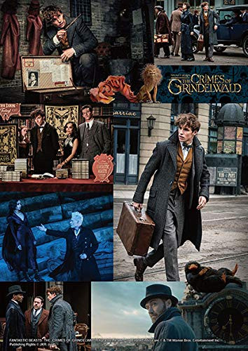 Beverly Jigsaw Puzzle 108-829 Fantastic Beasts: The Crimes of Grindelwald (108 Pieces)