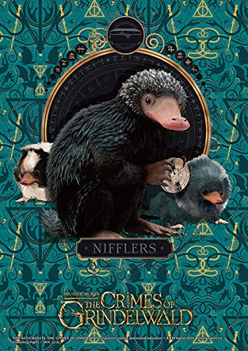 Beverly Jigsaw Puzzle 108-830 Fantastic Beasts: The Crimes of Grindelwald Nifflers (108 Pieces)