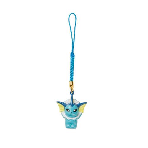 Pokemon Center Original Bell Charm Vaporeon 1222