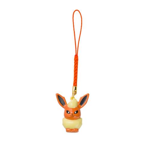 Pokemon Center Original Bell Charm Flareon 1222