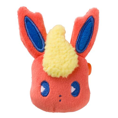 Pokemon Center Original Face Badge Mix au Lait Flareon 0101