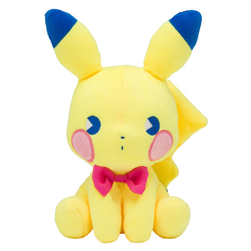 Pokemon Center Original Plush Doll Saiko Soda Pikachu 0101