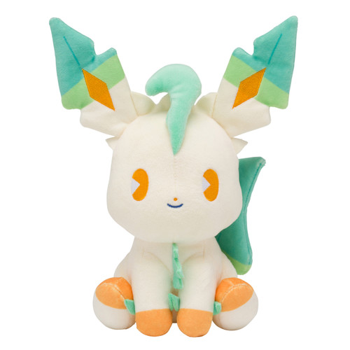 Pokemon Center Original Plush Doll Mix au Lait Leafeon 0101