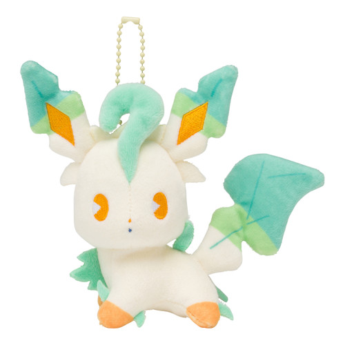 Pokemon Center Original Mascot Mix au Lait Leafeon 0101