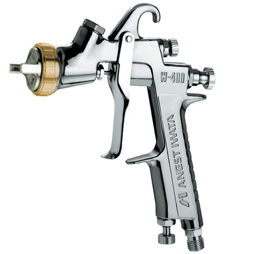 Anest Iwata W-400-132G Center Cup Gravity Spray Gun 1.3mm (Cup sold Separately)