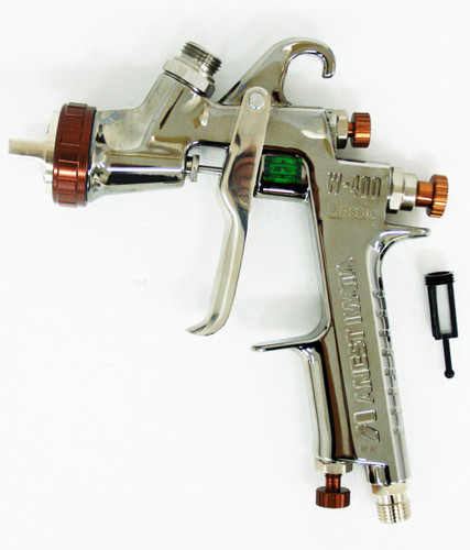 Anest Iwata W-400-134G Center Cup Gravity Spray Gun 1.3mm (Cup sold Separately)
