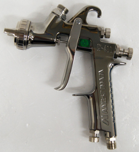 Anest Iwata W-400-251G Center Cup Gravity Spray Gun 2.5mm (Cup sold Separately)
