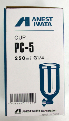 Anest Iwata PC-5 Cup 250ml for LPH-50,LPH-101,W-50,W-101,W-61,W-71,RG-3L