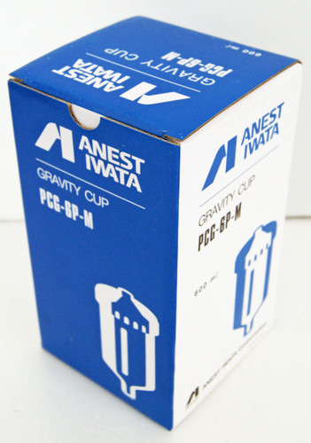 Anest Iwata PCG-6P-M Plastic Gravity Cup 600ml for W-400, LPH-400