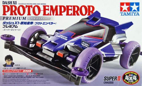Tamiya 18074 Mini 4WD Dash-X1 Proto-Emperor Premium (Super-II Chassis) 1/32