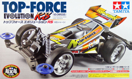 Tamiya 18076 Mini 4WD Top-Force Evolution RS (VS Chassis) 1/32