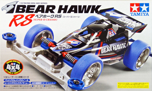 Tamiya 18080 Mini 4WD Bear Hawk RS (Super-II Chassis) 1/32