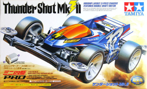 Tamiya 18620 Mini 4WD Thunder Shot Mk.II 1/32
