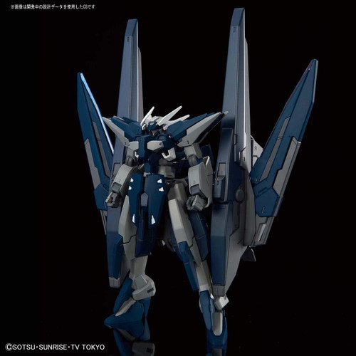 Bandai Gundam Build Divers 027 Gundam Zerachiel 1/144 Scale Kit