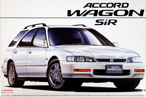 Aoshima 02773 Honda Accord Wagon SiR (CF-2) 1/24 Scale Kit