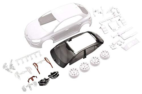 Kyosho MZN187 Renault Megane White body set (w/Wheels)