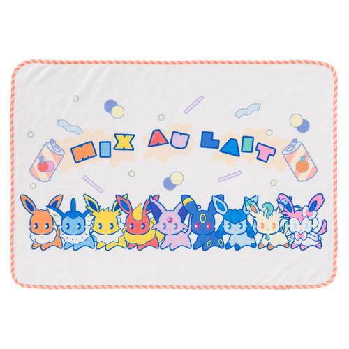 Pokemon Center Original Blanket Mix au Lait 0101