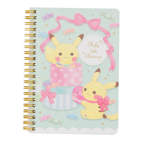 Pokemon Center Original B6-Sized Ring Notebook fluffy little pokemon 119