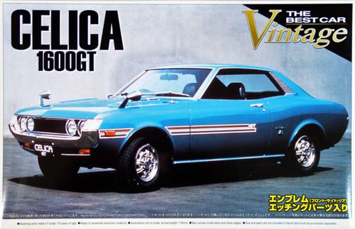 Aoshima 41802 Toyota Celica 1600GT (TA22) 1972 1/24 Scale Kit