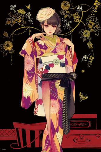 Epoch Jigsaw Puzzle 11-587 Hiromi Matsuo Dress Up (1000 Pieces)