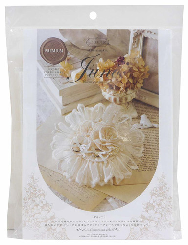 Hamanaka H431-160 Wedding Kit Juno Ring Pillow Lace Flower