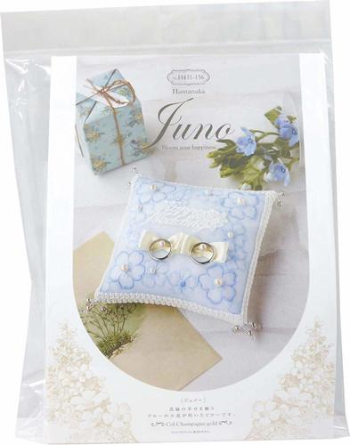 Hamanaka H431-156 Wedding Kit Juno Ring Pillow Floret
