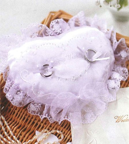 Hamanaka H431-122 Wedding Kit Embroidered Ring Pillow Aurora