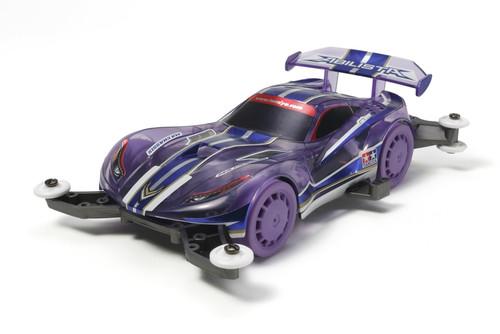 Tamiya 95218 Mini 4WD Abilista Clear Purple Sp. MA Chassis 1/32 Scale