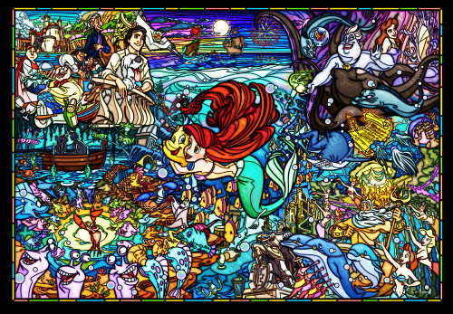 Tenyo Japan Jigsaw Puzzle DSG-500-485 The Little Mermaid Story (500 Pieces)