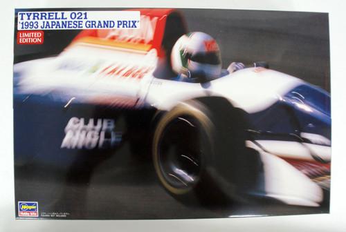 Hasegawa 20393 Tyrrell 021 1993 Japan Grand Prix 1/24 Scale kit
