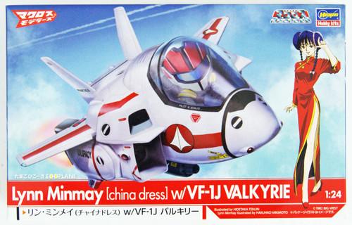Hasegawa 65847 Macross Lynn Minmay (China Dress) w/ Eggplane VF-1J Valkyrie 1/72 Scale kit