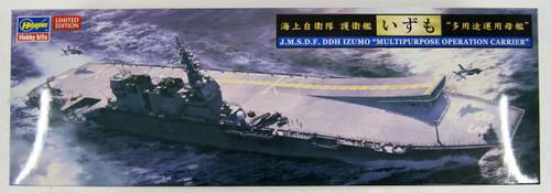 Hasegawa 30060 JMSDF DDH Izumo Multi-Purpose Operation Carrier 1/72 Scale Kit