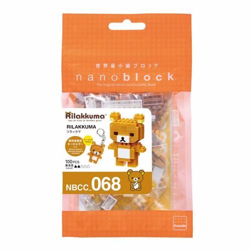 Kawada NBCC-068 nanoblock Rilakkuma