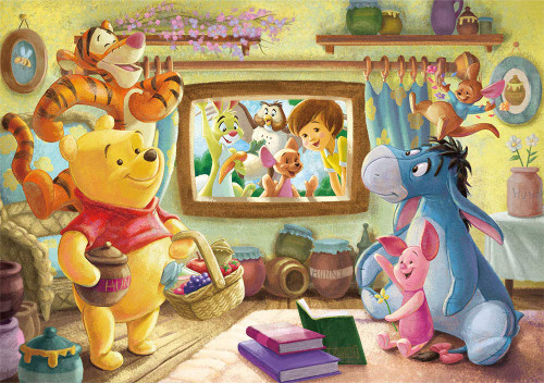 Tenyo Japan Jigsaw Puzzle D-200-905 Disney Winnie-the-Pooh (200 Pieces)