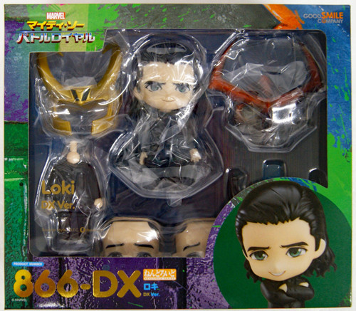 Good Smile Nendoroid 866-DX Loki: DX Ver. (Thor: Ragnarok)