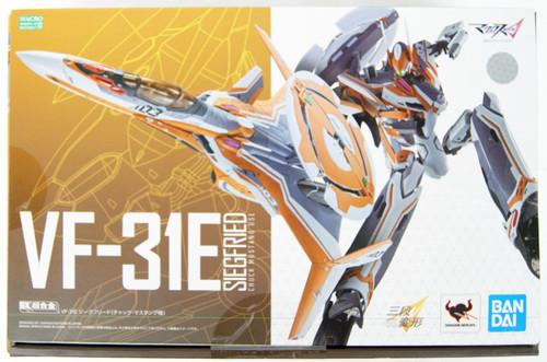 Bandai DX Chogokin VF-31E Siegfried (Chuck Mustang Custom) Figure