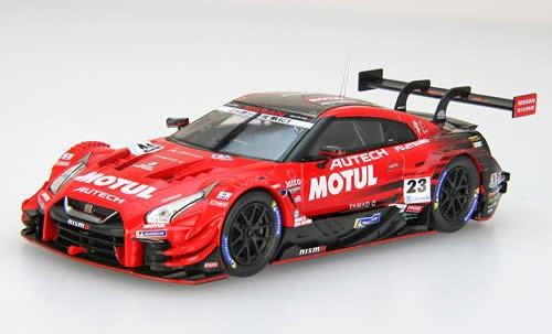 Ebbro 45623 Motul Autech Nissan GT-R Super GT GT500 No.23 2018 1/43 scale