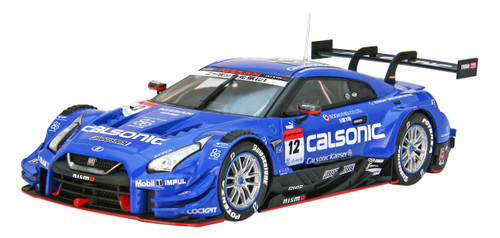 Ebbro 45624 Calconic Impul Nissan GT-R Super GT GT500 No.12 2018 1/43 scale
