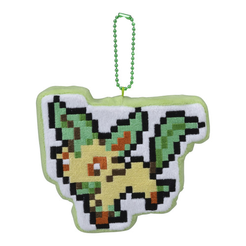 Pokemon Center Original Mascot EEVEE DOT COLLECTION Leafeon 021