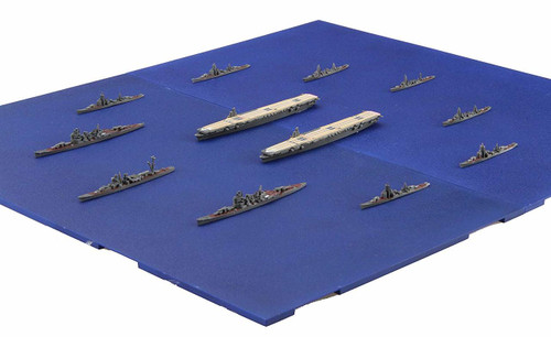 Fujimi 401584 Operation A Ozawa Koh Set 1/3000 Scale Pre-painted kit