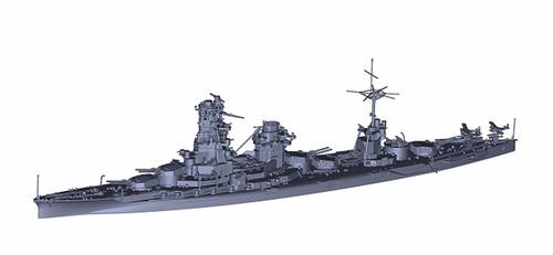 Fujimi TOKU 97EX-2 IJN Battleship Hyuga (1942 w/o 5th Turret) SP Ver. 1/700 Scale kit