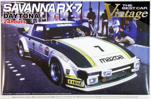 Aoshima 47453 Mazda Savanna RX-7 (SA22C) Daytona 24 hours 1979 1/24 Scale Kit