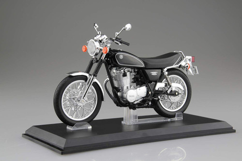 Aoshima Skynet 05870 YAMAHA SR400 Yamaha Black 1/12 Scale Finished Model