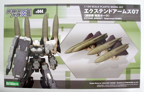 Kotobukiya Frame Arms FA088 Extend Arms 07 Guided Missile Improved Hawk 1/100 Scale Kit