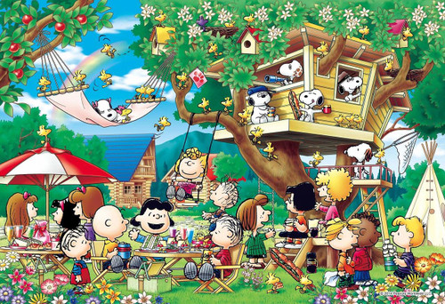 Epoch Jigsaw Puzzle 26-310s Peanuts Treehouse (300 Pieces)